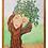 """Thumbnail: Tree Face Framed  11"""" x 14"""""""