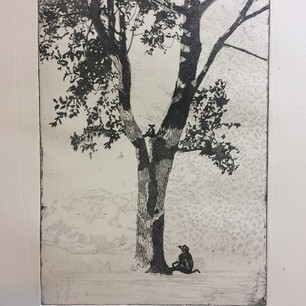 Jessica Hills on Drawing, Etching and Studio Space