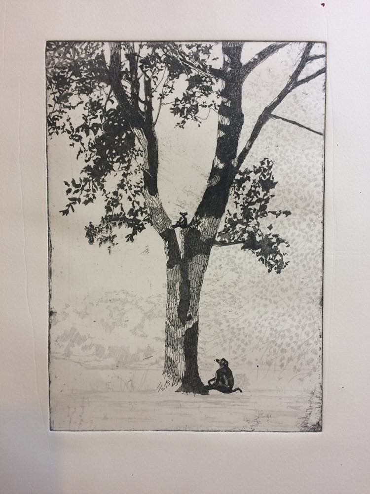 Soft ground etching