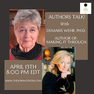 Authors talk promo II demaris wehr.png