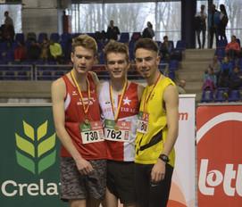 5 médailles aux championnats LBFA Indoor !