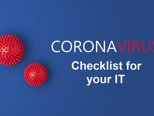 Checklist Corona Virus:  10 actions for your IT operations