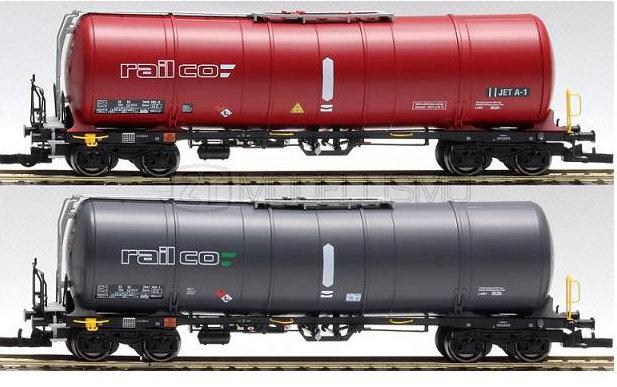 IGRA 96210003 - Set 2 cisterne Zacns 88'' Rail-co - H0