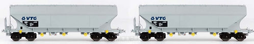 B-models 45.341 - Set di due carri Uagps VTG, set B - H0