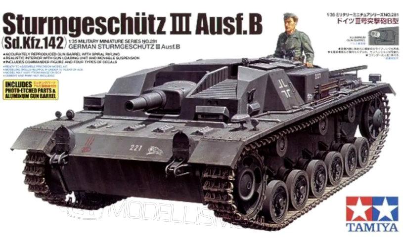 Tamiya 35281 - GERMAN STURMGESCHUTZ III AUSF.B - 1:35
