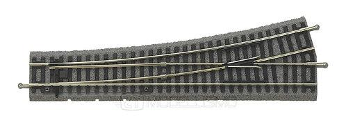 Piko 55420 - Scambio manuale sinistro, angolo 15°, con massicciata   - H0