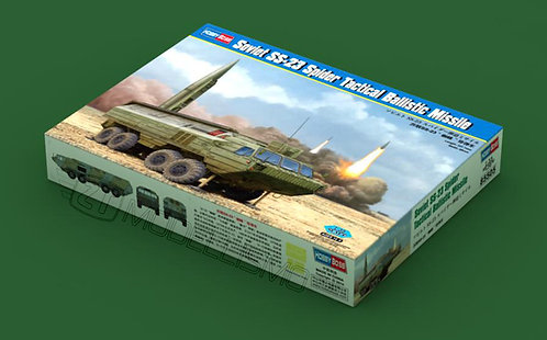 Hobby Boss 85505 - Soviet SS-23 Spider Tactical Ballistic Missile - 1:35