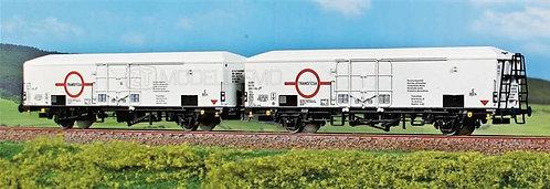 ACME 45078 - Set di due carri Interfrigo con marcatura Transfesa, FS - H0