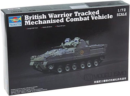 Trumpeter 07101 - British Warrior Tracked - 1:72