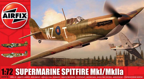 Airfix A02010 - Supermarine Spitfire MkI/MkIIa - 1:72