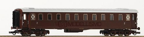 Roco 74382 - Carrozza passeggeri di 2' classe, Bz30000, FS - H0