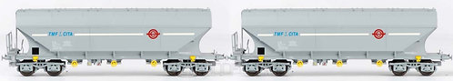 B-models 45.348 - Set di due carri Uagps TMF-CITA, set A - H0