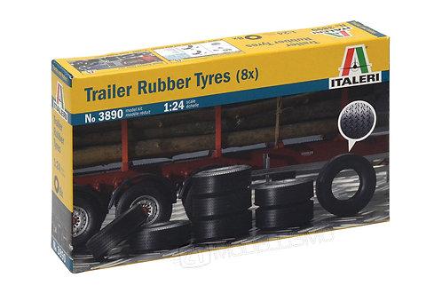 Italeri 3890 - Trailer Rubber Tyres - 1:24