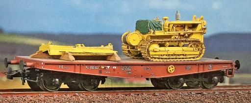 Blackstar BS00083 - Carro pianale Poz 690 523, FS - H0