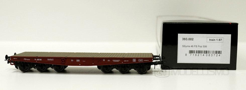 Blackstar 393.002 - Carro pianale Poz 511, SSym 46, FS - H0