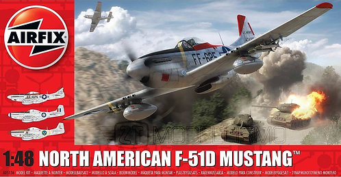 Airfix A05136 - North American f-51D Mustang - 1:48