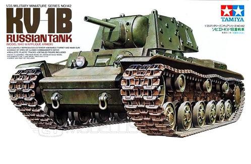 Tamiya 35142 - RUSSIAN TANK KV-01B - 1:35