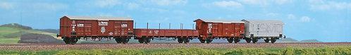 ACME 45104 - Set di quattro carri merci, FS - H0