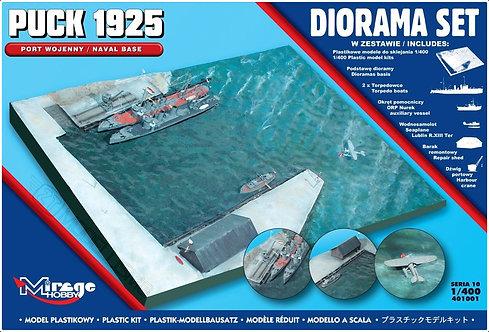 Mirage Hobby 401001 - Puck 1925: Port Wojenny, base navale - 1:400