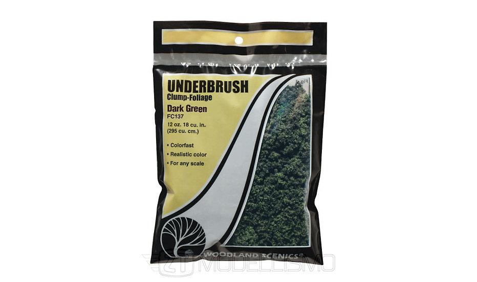 Woodland scenics FC137 - Underbrush, dark green