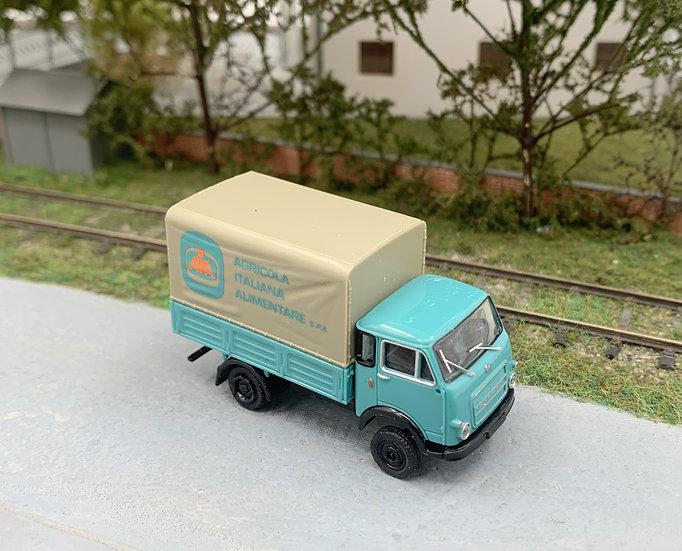 """Brekina 34609 - Autocarro OM 'Lupetto' """"AIA"""" alimentari - H0"""