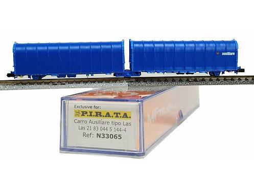 Pi.R.A.T.A. N33065 - Carro doppio telonato AUSILIARE, tipo Layls - N