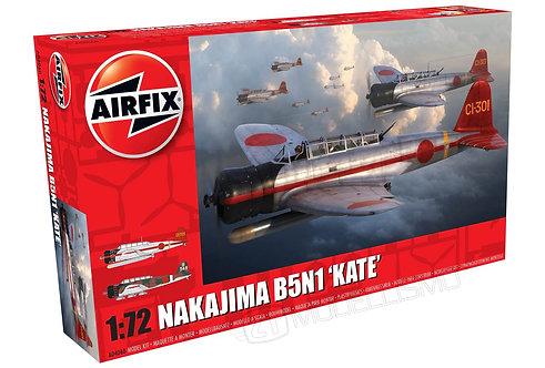 Airfix A04060 - Nakajima B5N1 'Kate' - 1:72