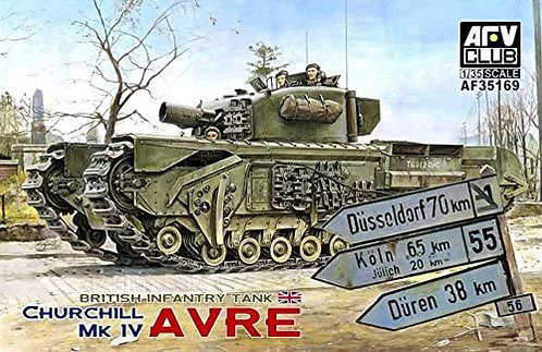AFV Club 35169 - Churchill MK IV Avre - 1:35