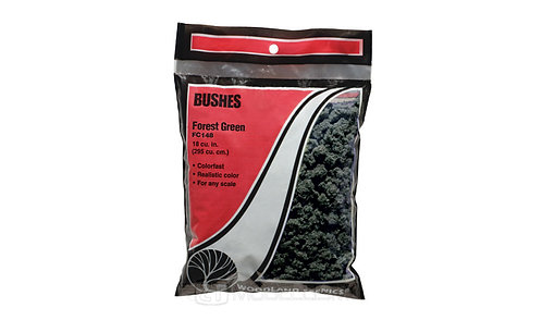 Woodland scenics FC148 -Bushes, forest green