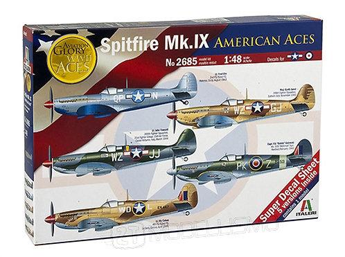 """Italeri 2685 - Spitfire Mk.IX """"American Aces""""- 1:48"""