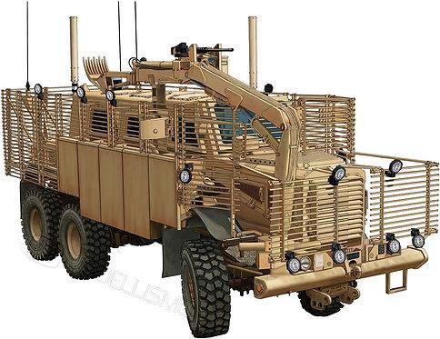 "Bronco models CB35145 - ""Buffalo"" 6x6 MPCV w/slat Armour & SpacedVersion - 1:35"