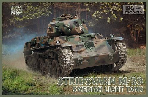 IBG Models 72034 - Stridsvagn M739 Swedish light tank - 1:72