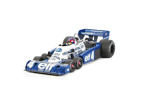 Tamiya 20053 - TYRRELL P34 F1 Monaco 77 - 1:20