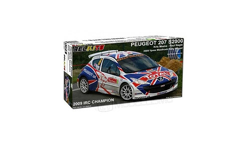Belkits 001 - Peugeot 207 S2000 - 1:24