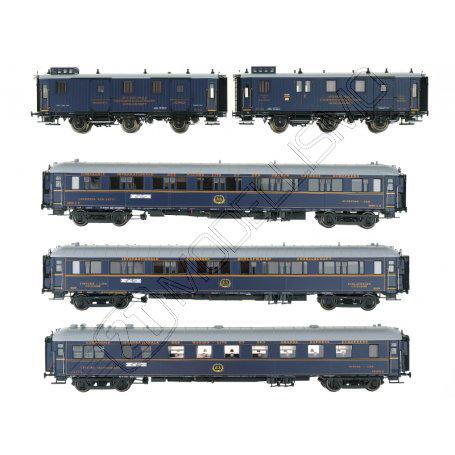 """L.S. Models 99004 - """"Train Bleu"""" CIWL - H0"""