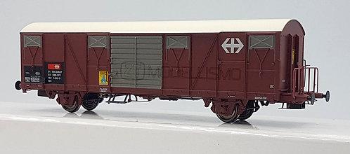 Exact - Train EX20456 - Carro a due assi Gbs, SBB-EUROP - H0