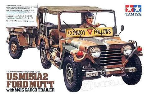Tamiya 35130 - US M151A2 Ford Mutt - 1:35