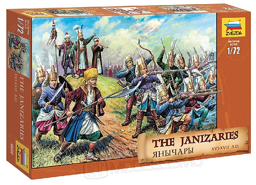 Zvezda 8050 - The Janizaries - 1:72