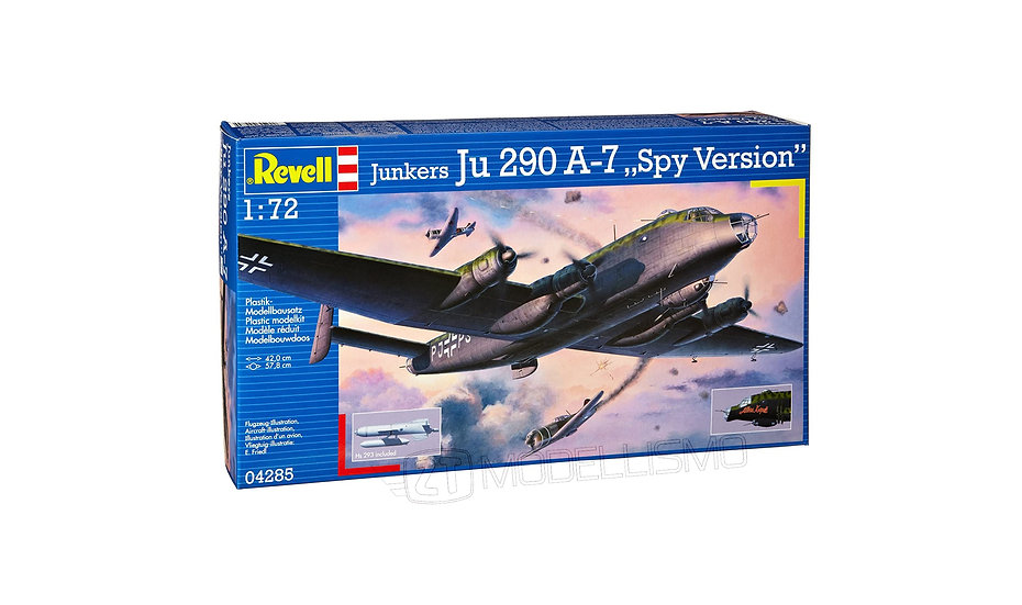"Revell 04285 - Junkers Ju 290 A-7 ""Spy Version"" - 1:72"