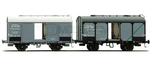 ACME 45054 - Set 2 carri trasporto vino, Vinicola Rotolo e F.lli Folonari - H0