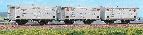 ACME 45034 - Set di tre carri refrigeranti tipo HgF, FS - H0
