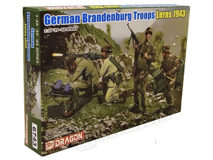 Dragon 6743 - German Brandenburg Troops - 1:35