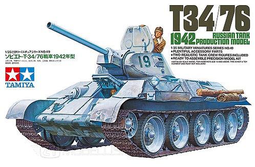 Tamiya 35049 - RUSSIAN TANK T34/72 1942 - 1:35