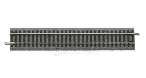 Piko 55406 - Binario diritto G231 con massicciata, 231mm - H0
