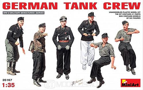MiniArt 35167 - GERMAN TANK CREW - 1:35