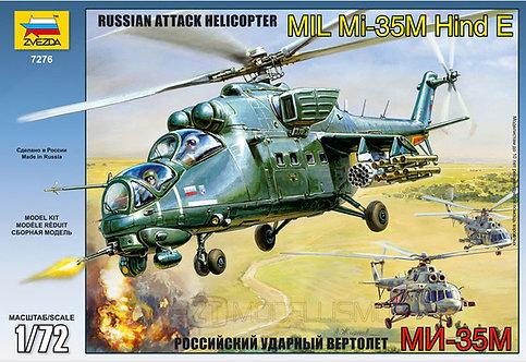 Zvezda 7276 - MIL Mi-35M Hind E - 1:72