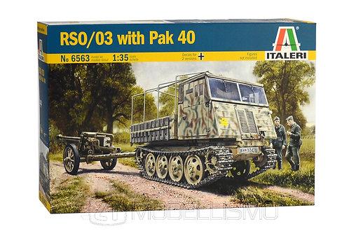 Italeri 6563 - RSO/03 con Pak 40 - 1:35