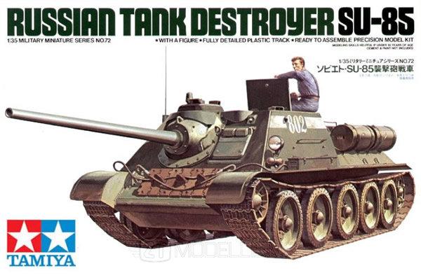 Tamiya 35072 - RUSSIAN TANK SU-85 - 1:35