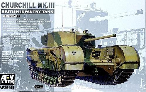 AFV Club 35153 - Churchill MK.III - 1:35