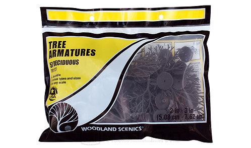 Woodland scenics TR1121 - Tree armatures, 57 deciduous